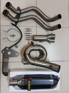 Exhaust full system mt07