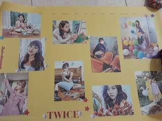 WTS TWICE OFFICAL TWICETAGRAM POSTER