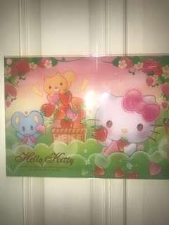 HELLO Kitty file 2018 (A4 size )