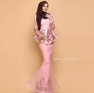 Peplum Dress Dusty Pink