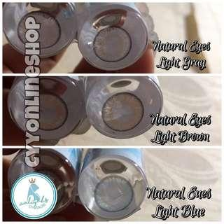 [Contact Lens] Regular/Natural Eyes. Clearance! Only $200 take all 3 pairs. Expires in 2021