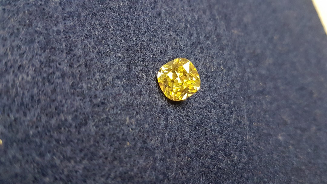 4 Carats Fancy Cushion Simulant Lab Created Loose Diamond