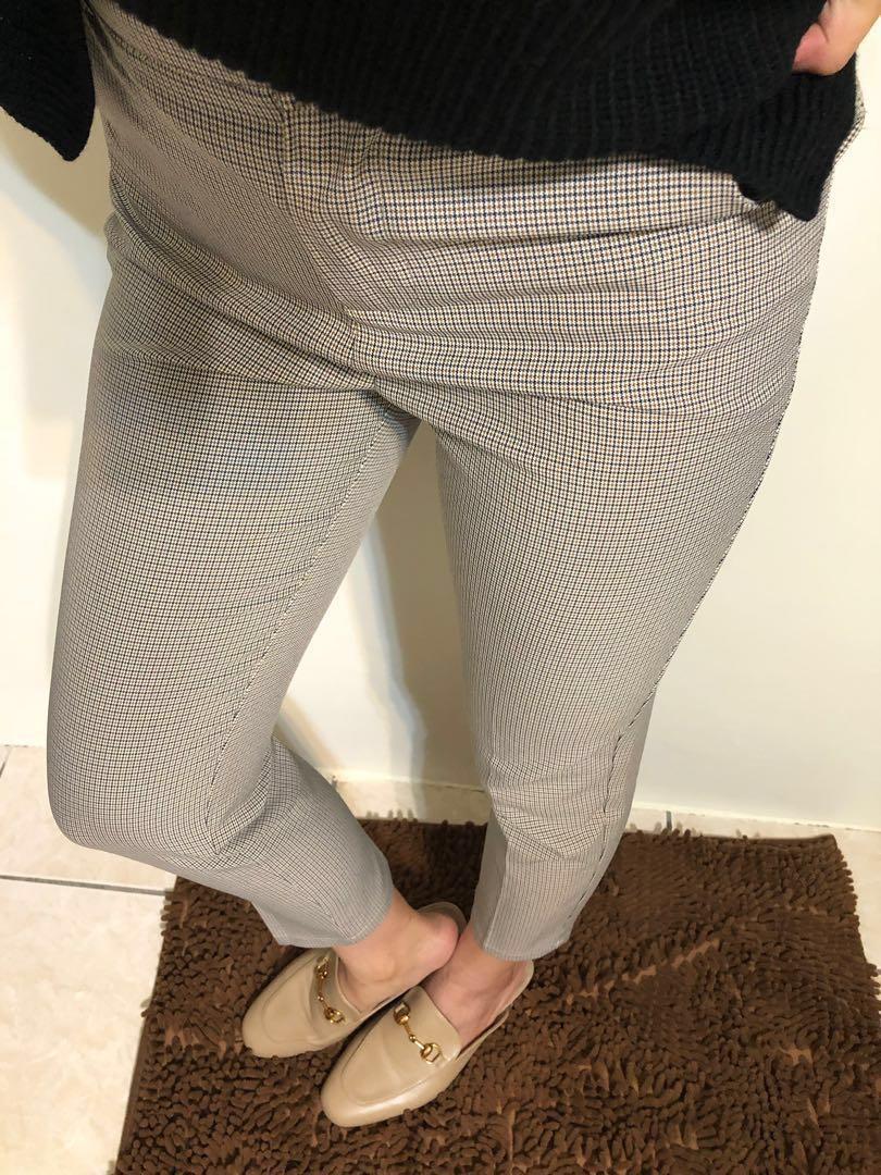 直筒西裝褲/九分褲