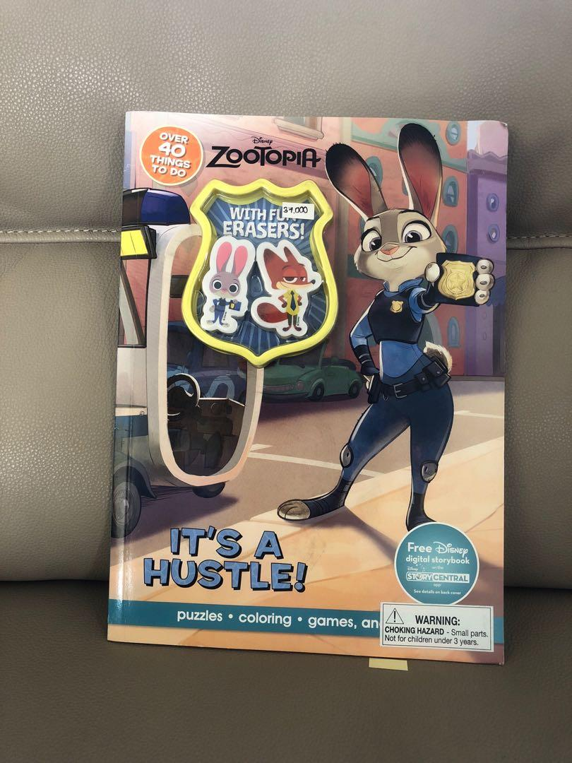 Activity Book Full Colour Zootopia 2penghapus Books