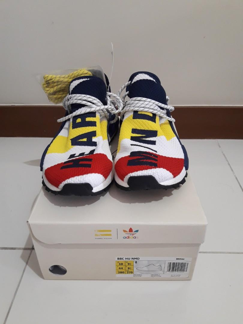 868d49b3dfe4a Adidas NMD Hu Pharrell x Billionaire Boys Club Multi-color