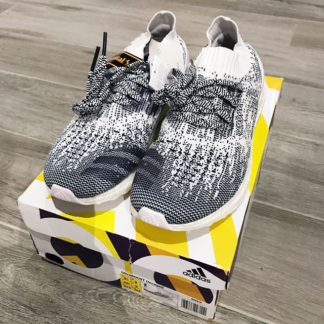 d8b83c263 Adidas Ultra Boost Uncaged Oreo N Dyed UK9