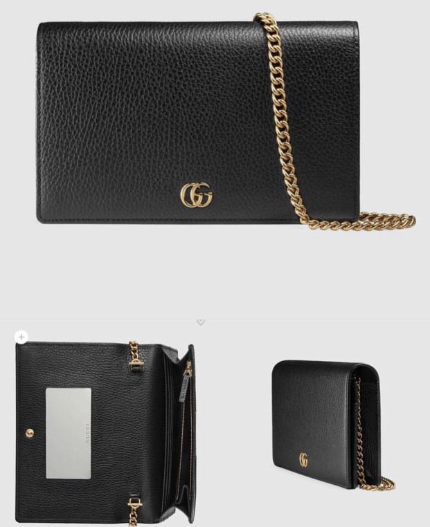 b5be2ebe028 Australia Proxy - Gucci GG Marmont Leather Mini Chain Bag