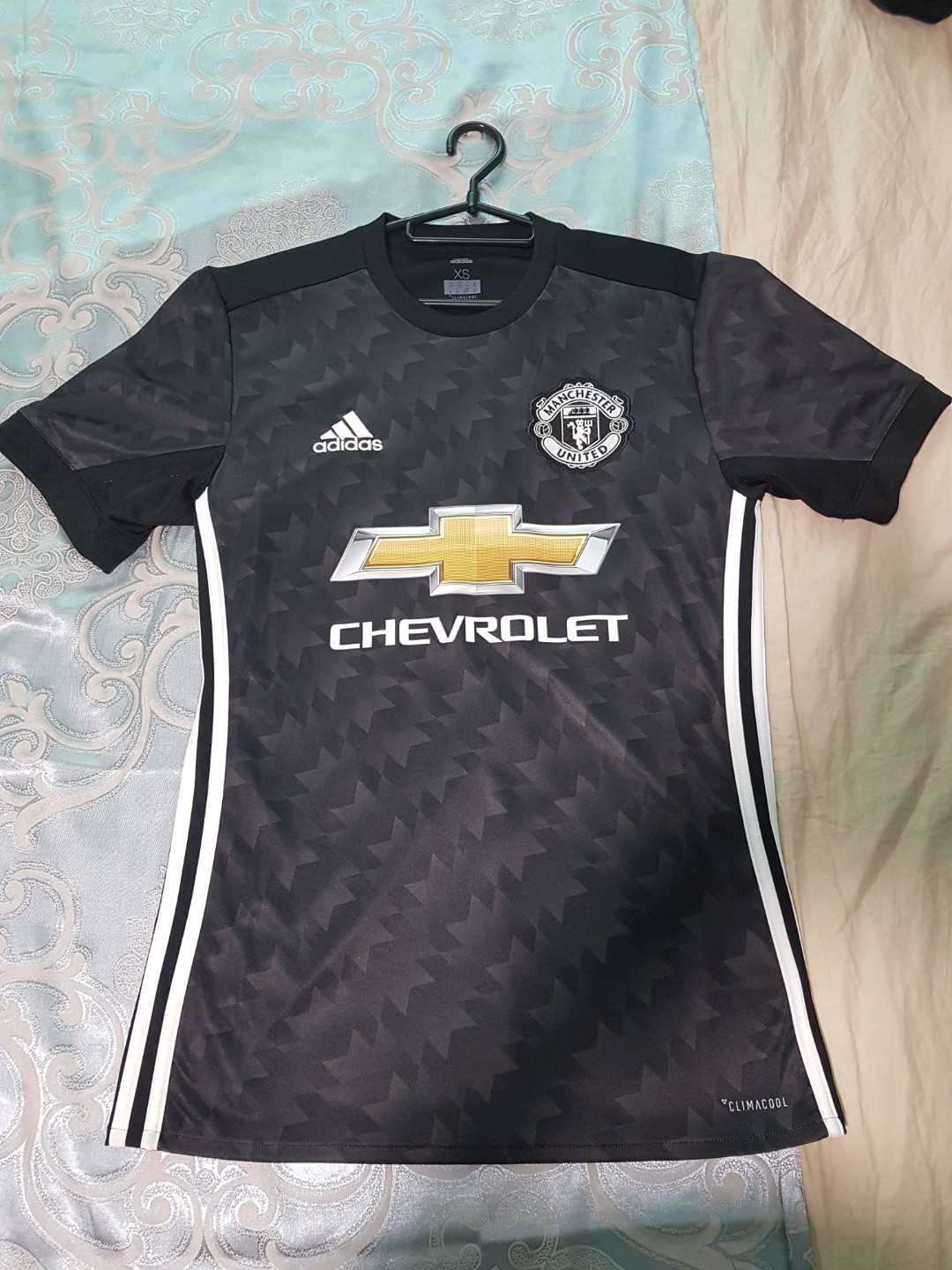 8cd8062a1 Authentic Adidas Manchester United 2017 18 Away Jersey