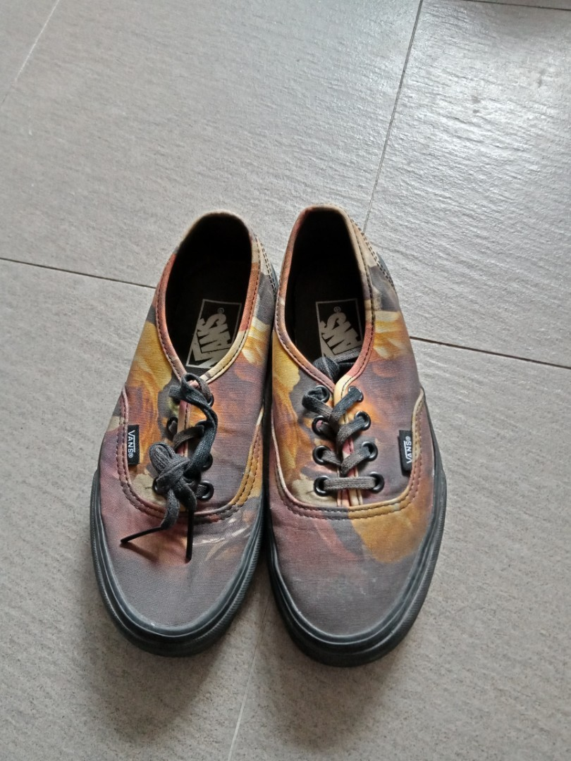 073dc7b6eb Authentic limited edition floral new era vans womens