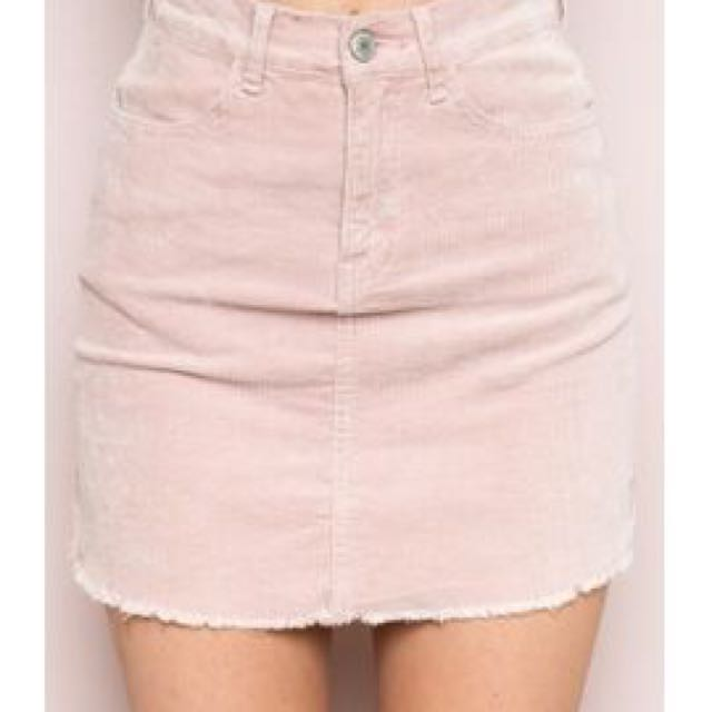 5120ca96b1 Brandy Melville Juliette Corduroy Skirt, Women's Fashion, Clothes ...