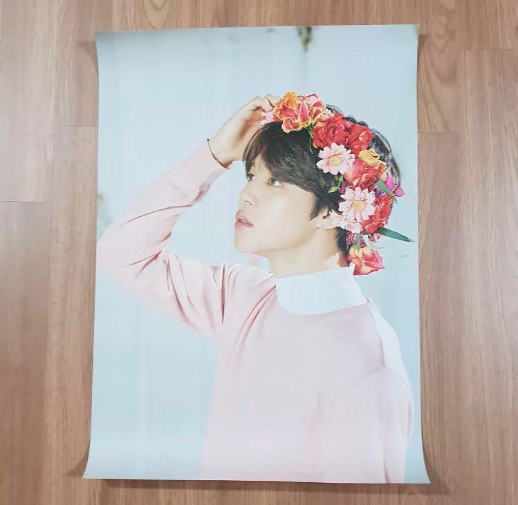 BTS bangtan boys love yourself tour official Jimin poster Kpop