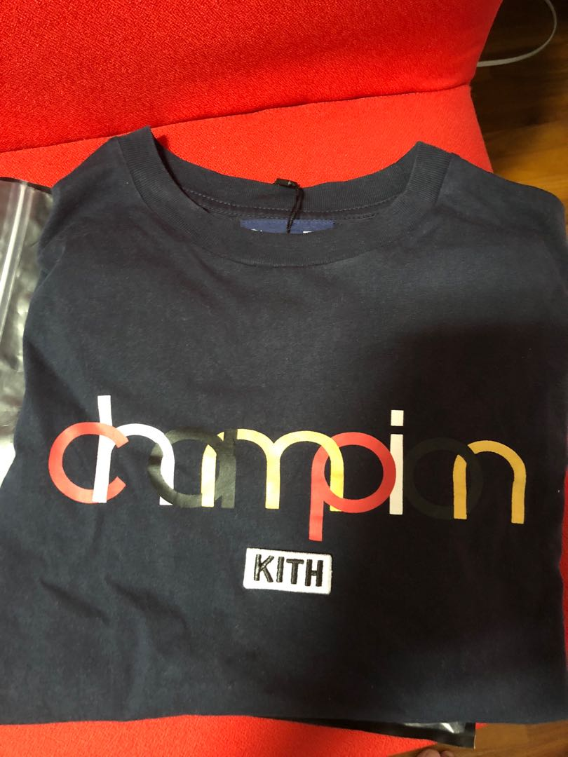39e85b46 Champion X kith tee, Men's Fashion, Clothes, Tops on Carousell