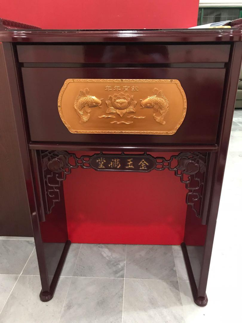 Chinese Prayer Table Altar Fengshui Home