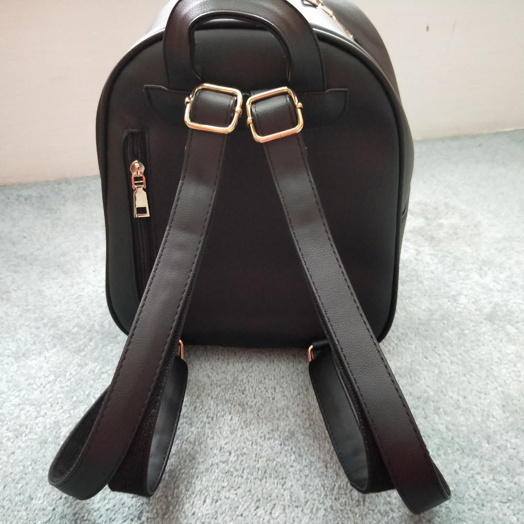 Cute Small Black Backpack
