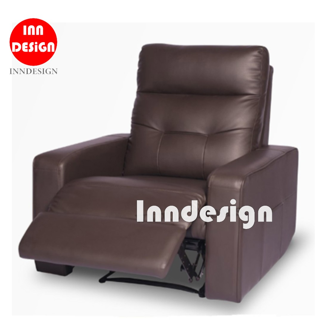 Delli 1 Seater Recliner Sofa Furniture Sofas On Carousell