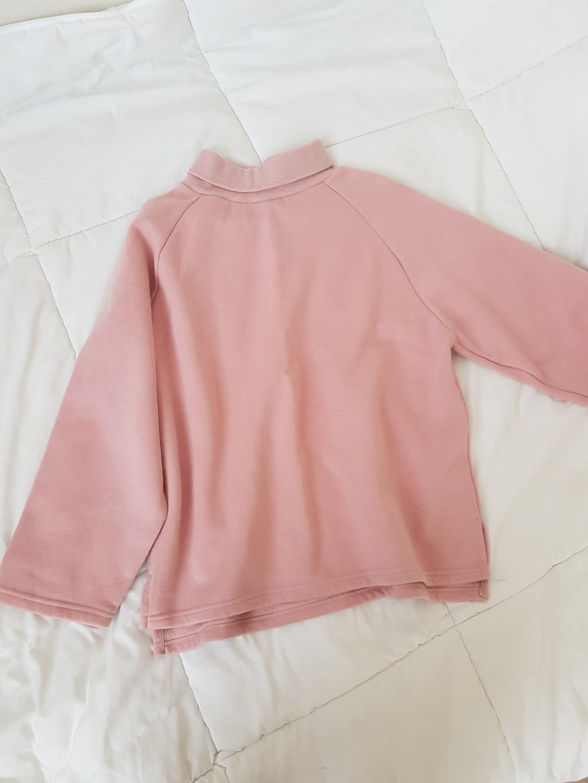 Dusty pink turtleneck