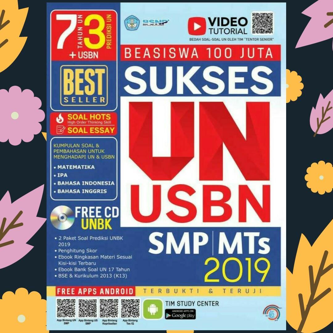EBOOK SUKSES UN-USBN SMP/MTS 2019