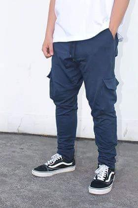 ea2daaac88 FRENCH TERRY CARGO PANTS on Carousell