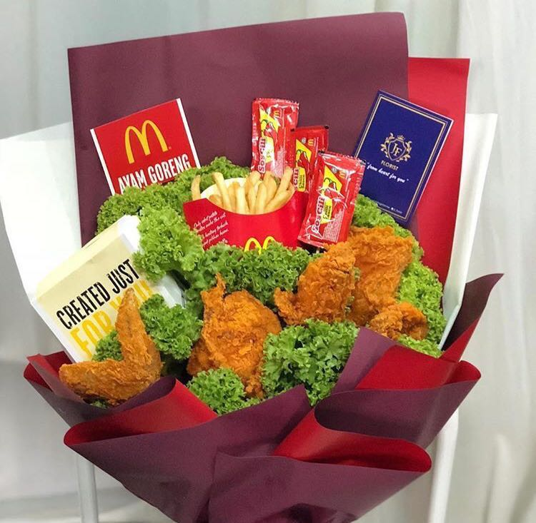 e17f98f06439 Fried Chicken Bouquet   Surprise Delivery