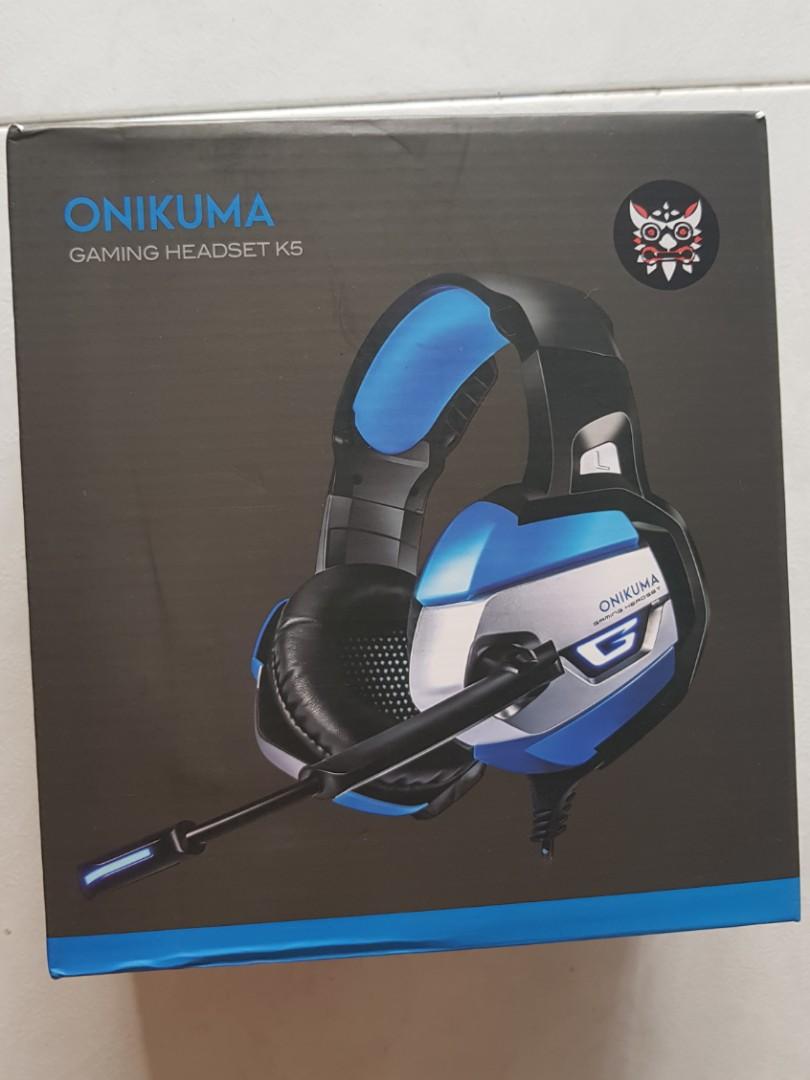 Gaming Headset (Onikuma k5)