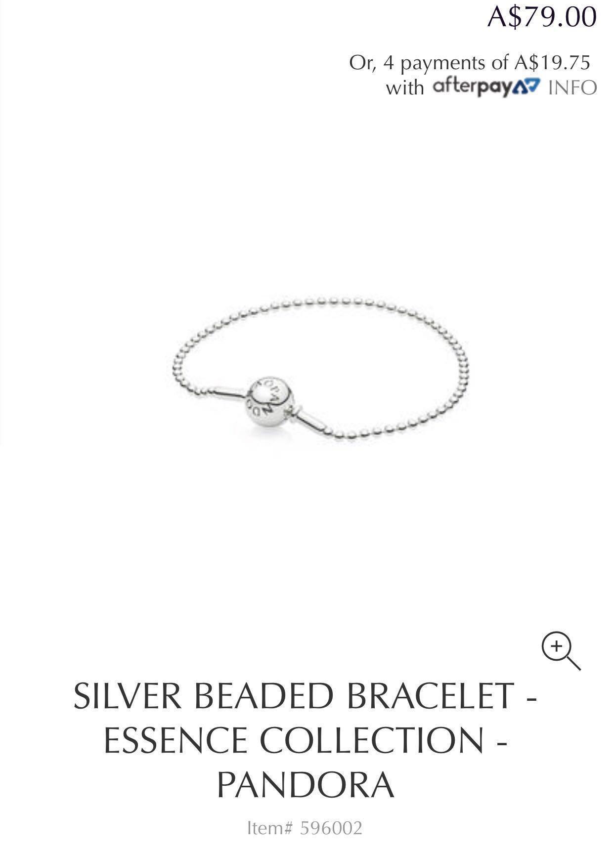 HALF PRICE!!! Genuine Pandora Beaded Essence Bracelet ...