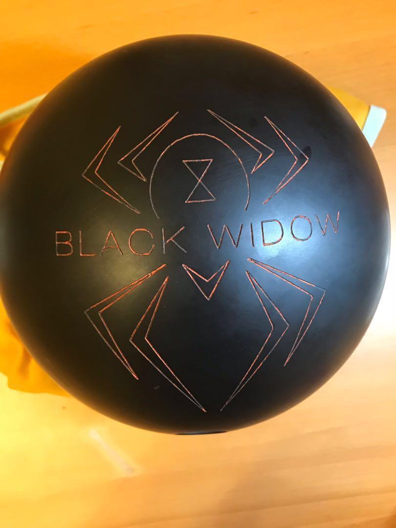 Hammer Black Widow Urethane Bowling Ball 15lbs Sports