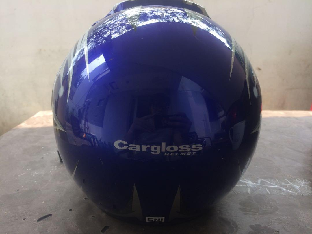 Helm motor cargloss half face