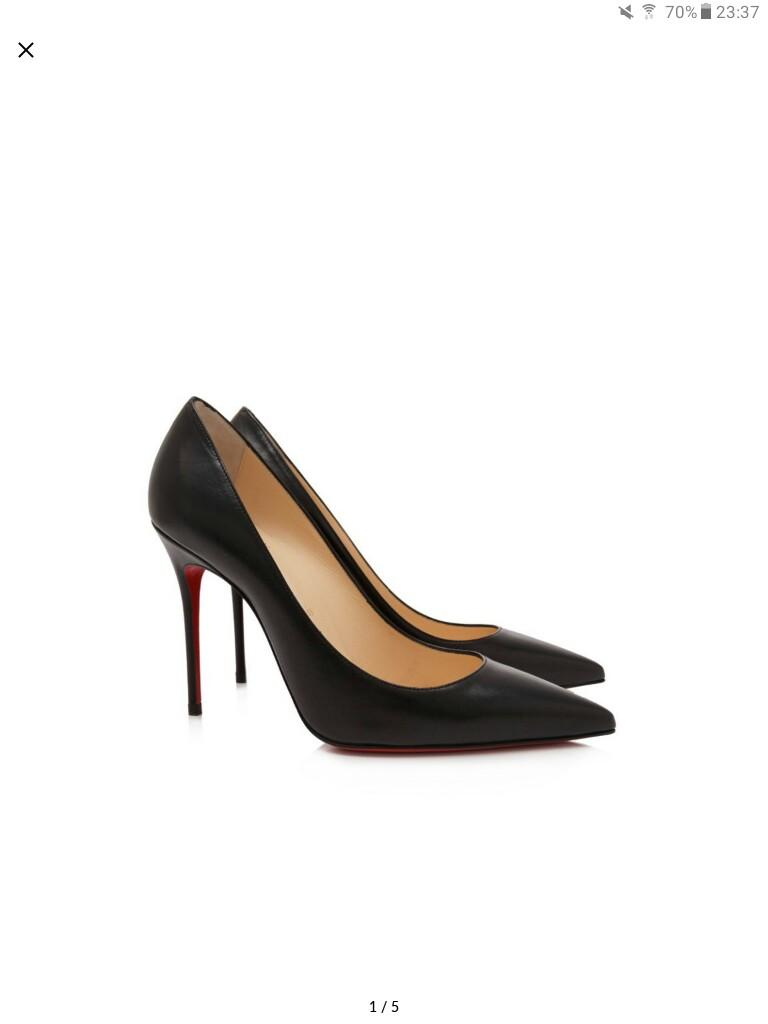 differently 3364b 5952c High heels Christian Louboutin Decollete 554 10cm nappa ...