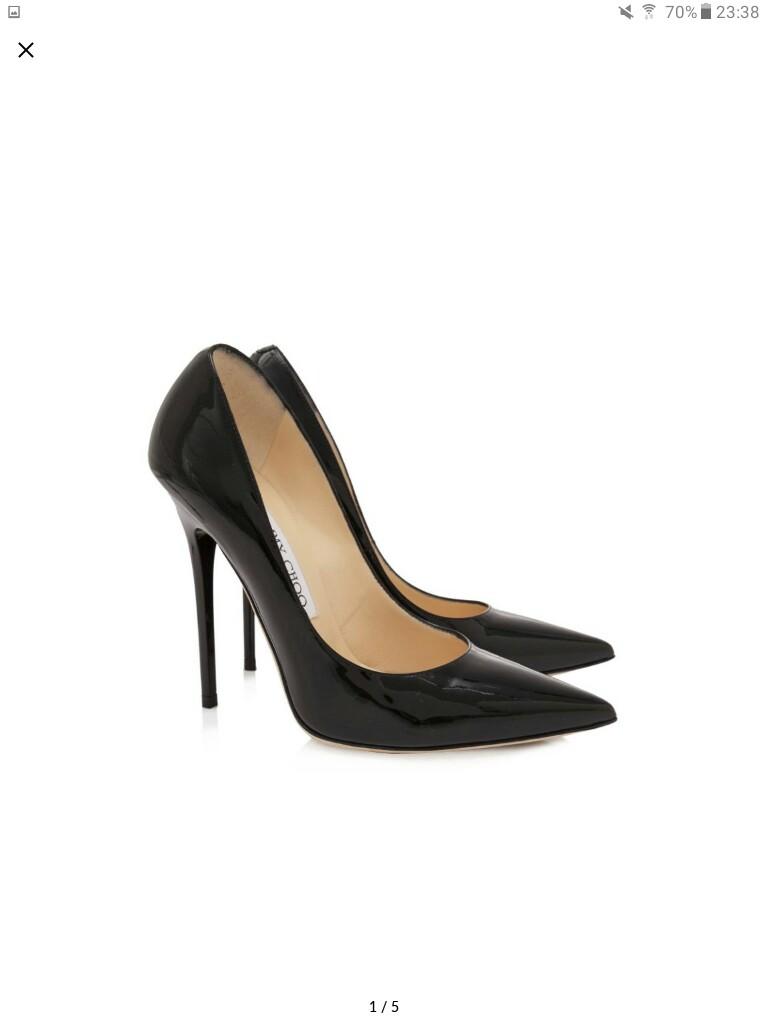 ba483651f5f1 High heels Jimmy choo anouk 12cm size 36