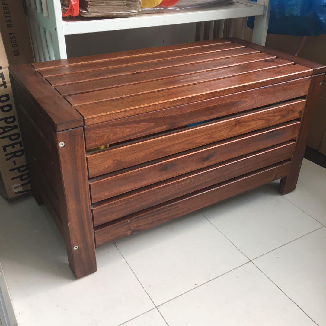 Ikea Applaro Storage Bench Furniture Others On Carousell
