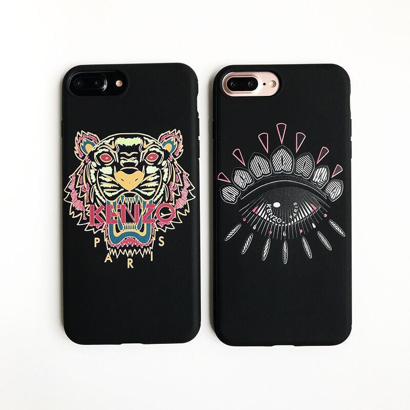 cba51504 Kenzo Tiger Eye iPhone Casing, Mobile Phones & Tablets, Mobile & Tablet  Accessories, Cases & Sleeves on Carousell