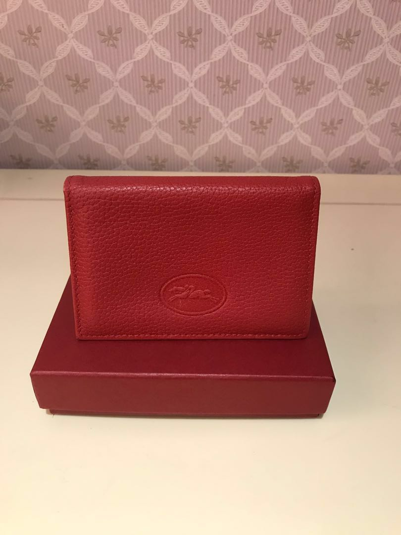 844fb6f03658 Longchamp leather card holder, Luxury, Bags & Wallets, Wallets on ...