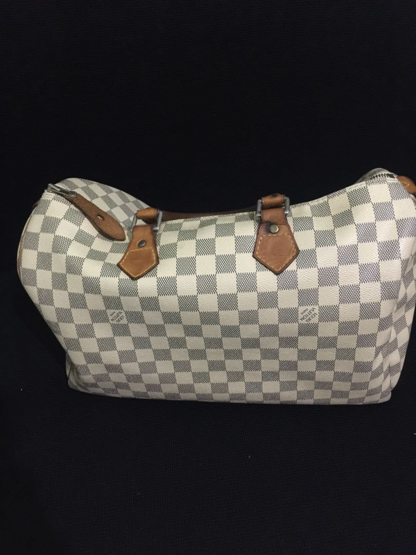 553949e1594 Louis Vuitton Damier Azur Speedy 35 with date code