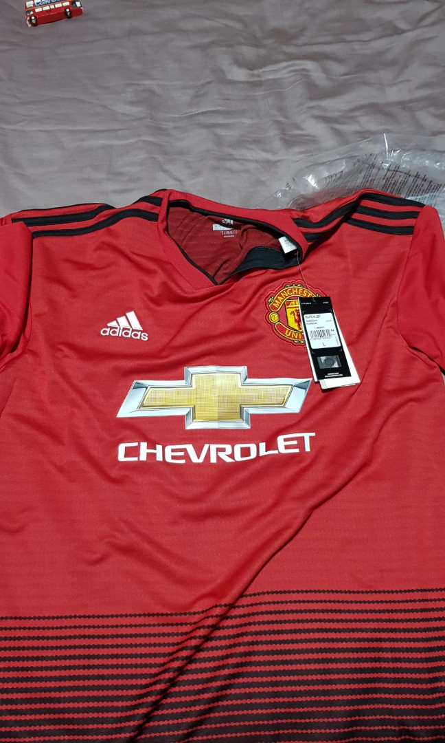 new product 94d2c c1cdf manchester united authentic jersey