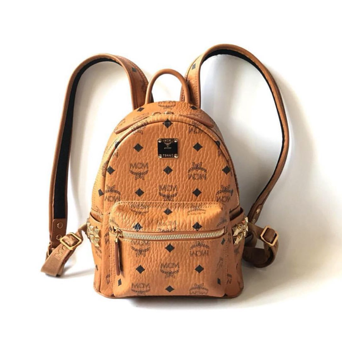 61342a04b0c6f7 Mcm bag [SALE], Luxury, Bags & Wallets, Backpacks on Carousell