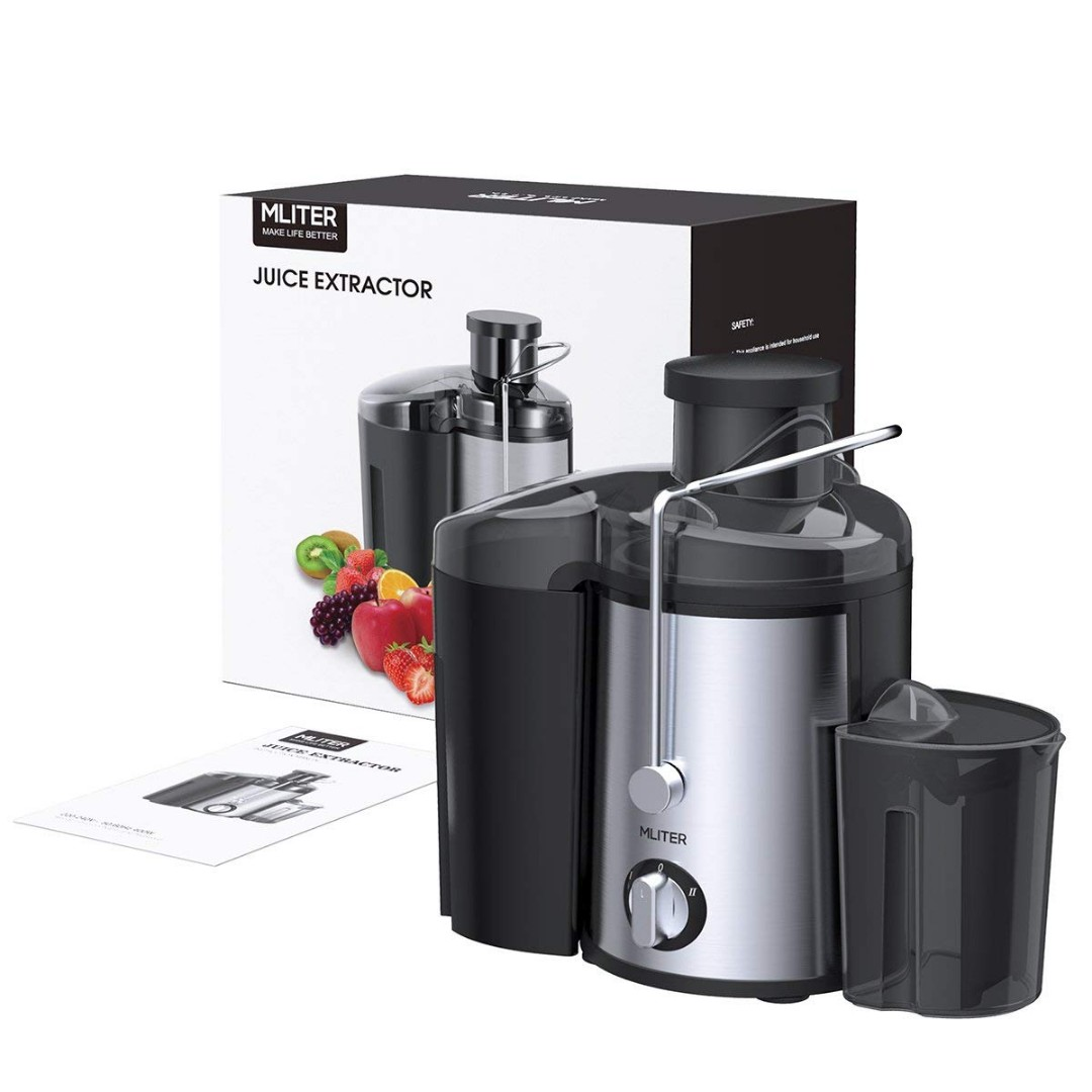 Mliter Juicer Machine Whole Fruit Juice Maker With 65mm Feed Chute 2