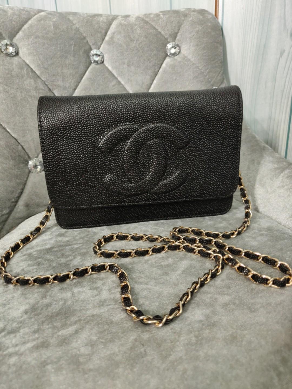 d1b51b3ab64d N/A Chanel caviar with chain GHW, Luxury, Bags & Wallets, Handbags ...