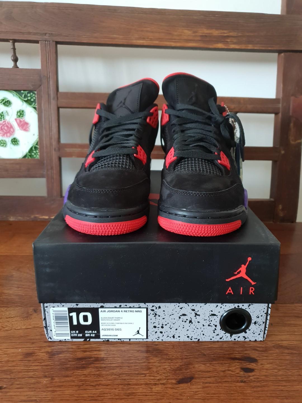 buy popular 60bd6 a009f Nike Air Jordan 4 Raptors, Men's Fashion, Footwear, Sneakers ...