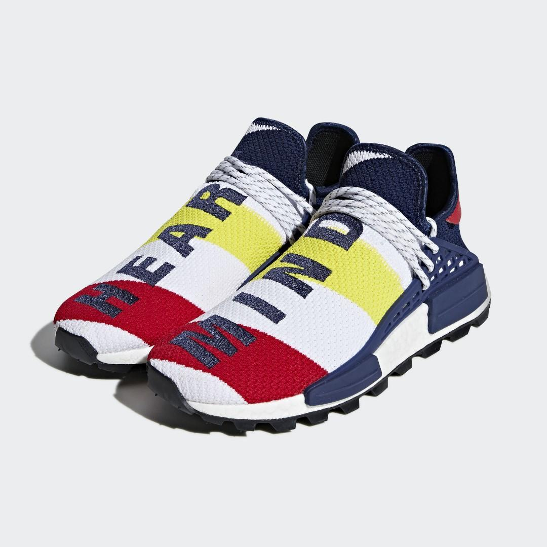 best loved 9e3d2 83407 Below Retail Price ] Pharrell Williams BBC Human Race NMD ...