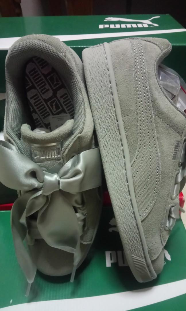908e5bca5c45 PUMA suede Heart pebble Shoes for women
