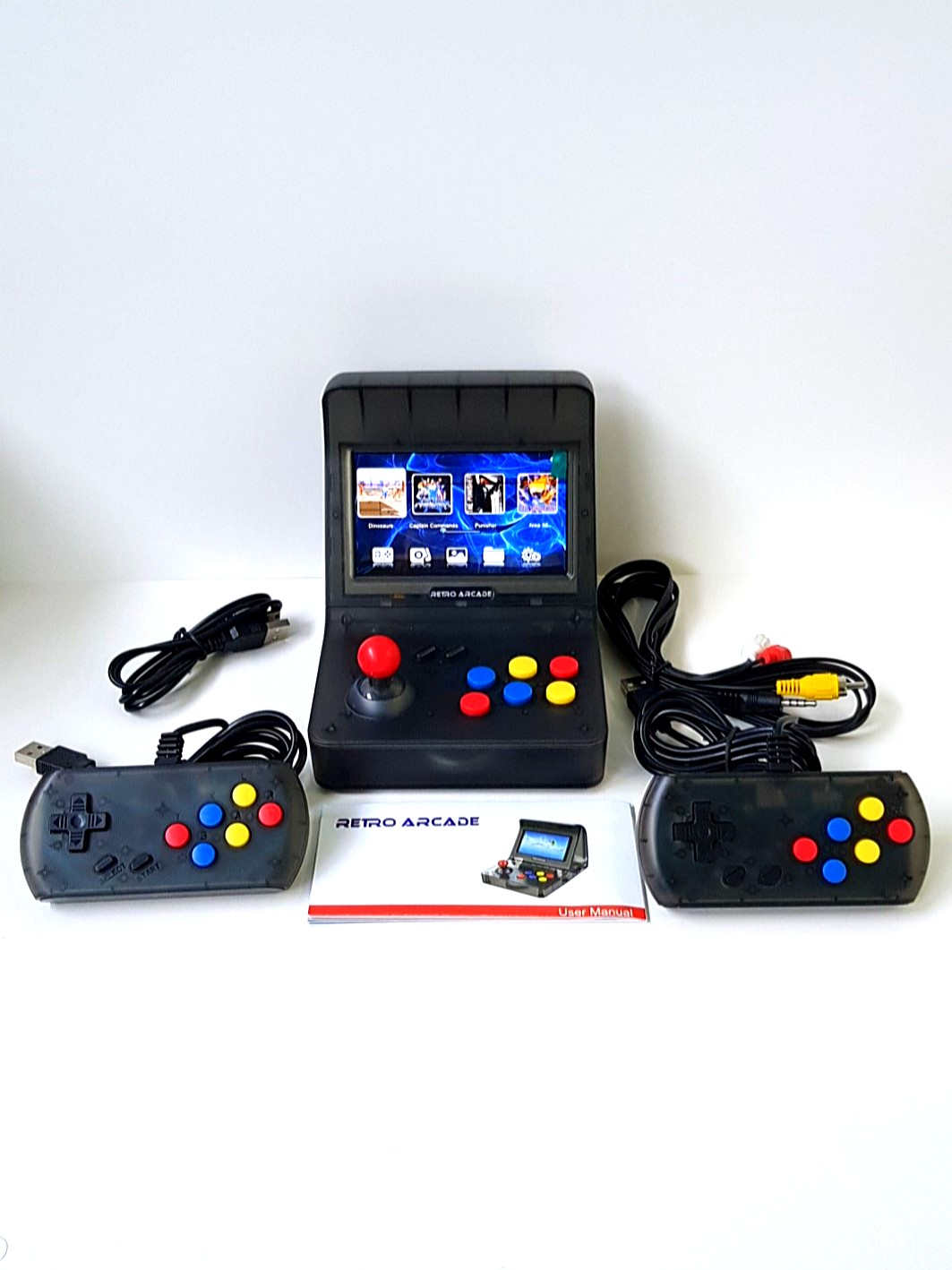 RETRO ARCADE, Toys & Games, Video Gaming, Consoles on Carousell
