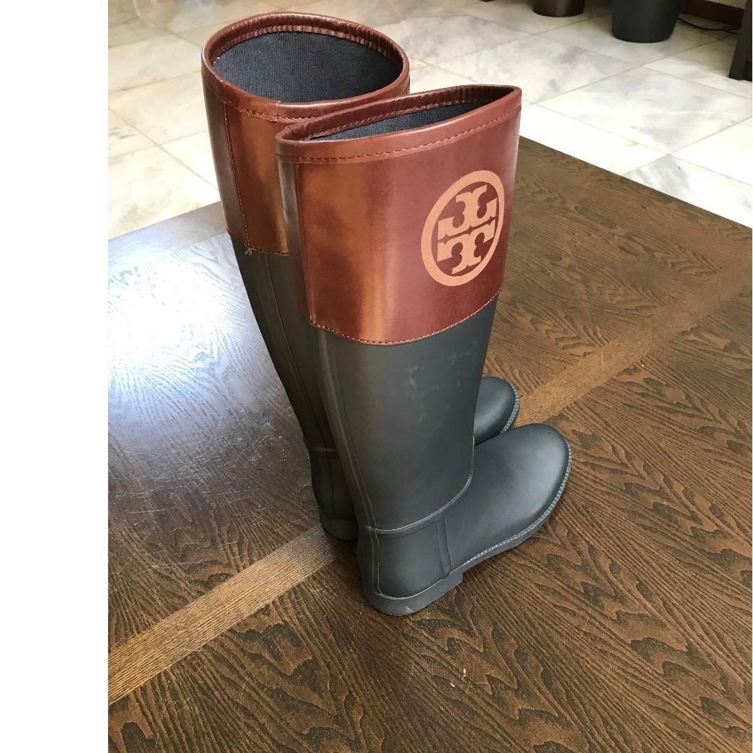 02fb6a4dbde2 Sepatu Boot Wanita Tory Burch Classic Rain Boot 100% original ...