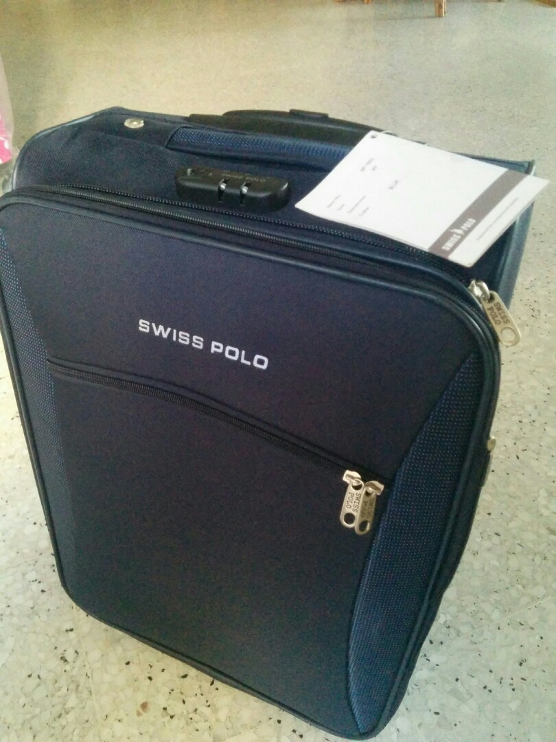 04961f14da60 Swisa Polo carry on luggage