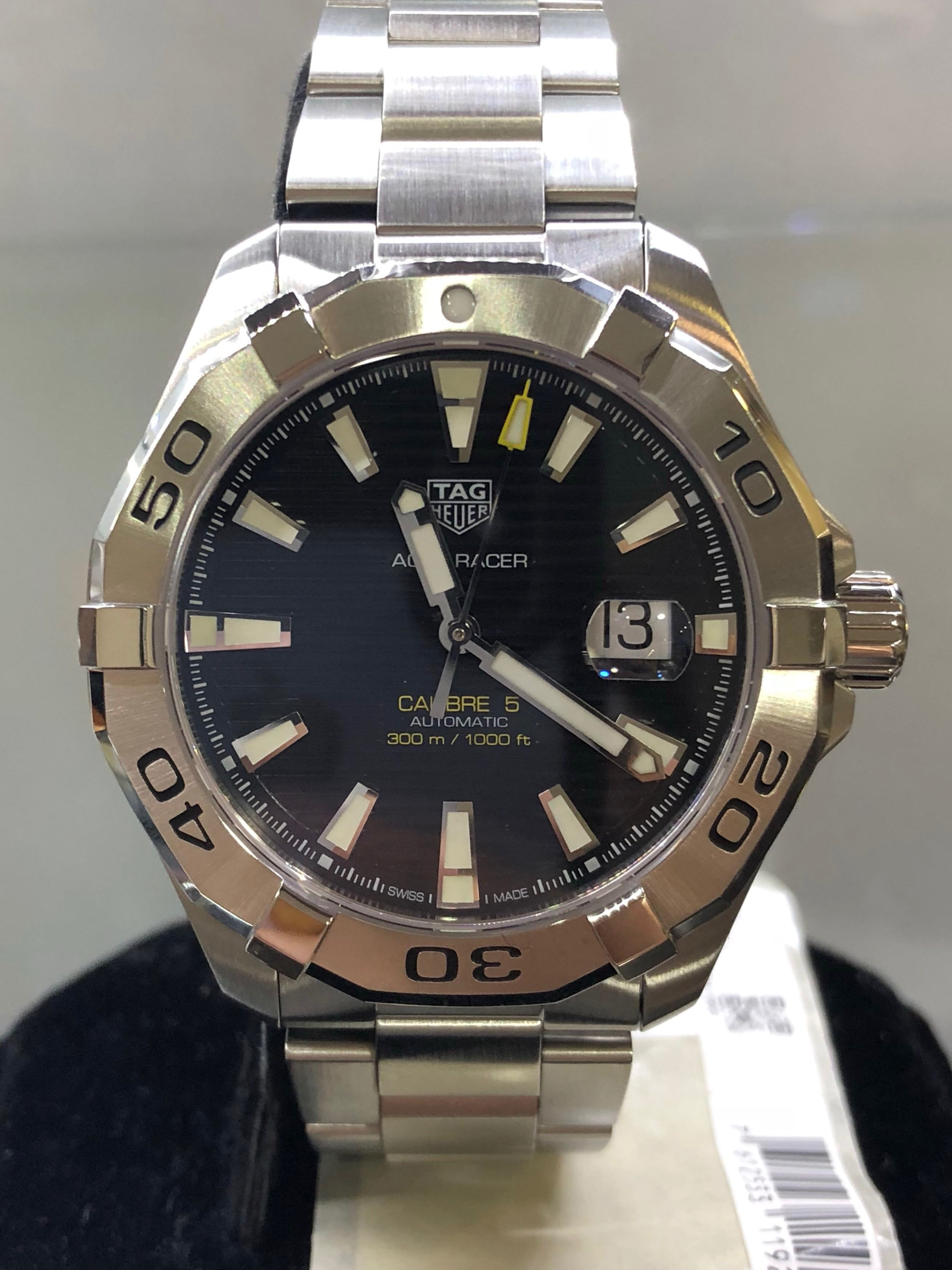 8a53f526a2e Tag Heuer Aquaracer Calibre 5 Automatic, Luxury, Watches on Carousell