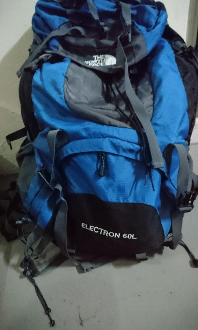 8f4ced392 The North Face Electron 60L backpack, Sports, Sports & Games ...