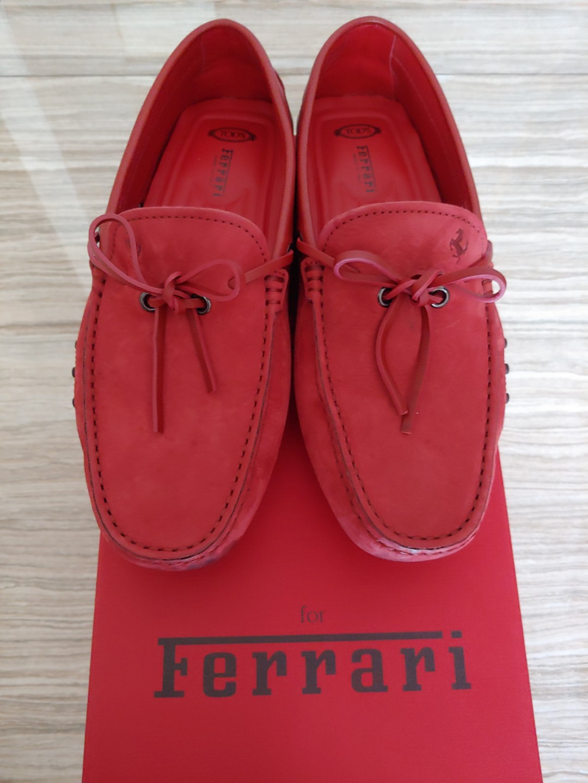 c1270c7a66c Tod s Ferrari Men Loafers Shoes CNY
