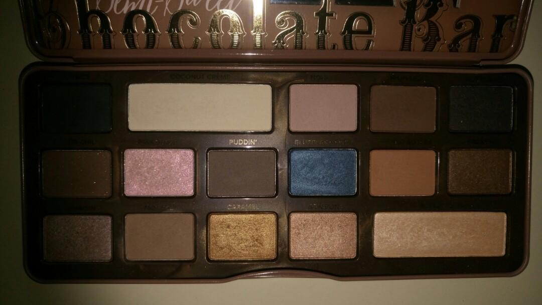 Too faced - semi sweet chocolate bar eyeshadow palette