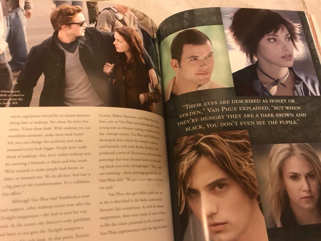 Twilight 吸血新世紀電影寫真書