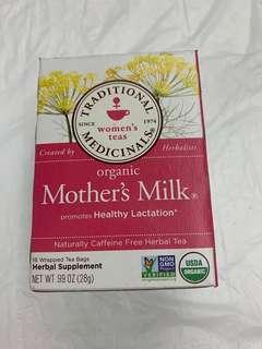 Organic Mother's Milk $25