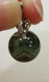 Layered Pyramid Green Phantom Globe